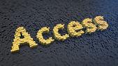 Access cubics — Stock Photo