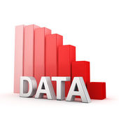 Recession of Data — Stock Photo
