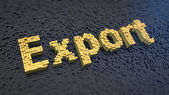 Export cubics — Stock Photo