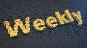 毎週キュービックス — ストック写真