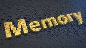 Memory cubics — Stock Photo