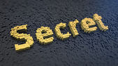 Secret cubics — Stock Photo