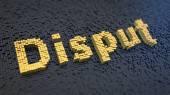 Disput cubics — Stock Photo