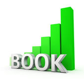 Growth of Book — Stock Photo