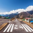 Lukla airport — Stock Photo #65488351