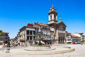 Toural Square, Guimaraes — Stock Photo