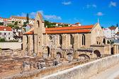 The ruins of the Monastery of Santa Clara — Stock Photo