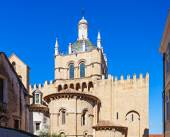 Old Cathedral, Coimbra — Stock Photo