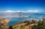 ペワ湖とアンナプルナ — ストック写真