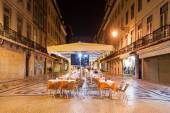 Street cafe, Lisbon — Stock Photo