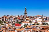 Clerigos Tower, Porto — Stock fotografie