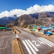 Lukla airport — Stock Photo #65490899