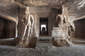 Elephanta Island caves — Stock Photo