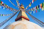 Boudhanath stupa, Kathmandu — Stock Photo