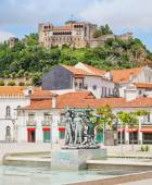 The Leiria Castle — Stock Photo
