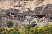 Ajanta caves, India — Stock Photo