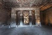 Ajanta caves, India — Stock Photo