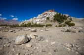 Thiksey Monastery — Stock Photo