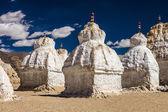 Many stupas — Stock Photo