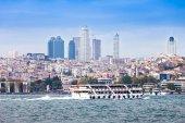 Skyline von istanbul — Stockfoto