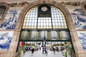Sao Bento Railway Station — Stock Photo