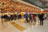 Indra Gandhi Airport — Stock Photo