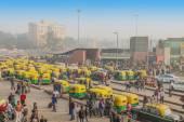 New Delhi train station — Stock Photo