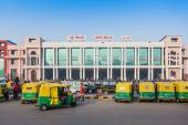 New Delhi train station — Stock Photo