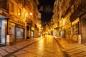 Coimbra central street — Stock Photo