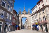Arch of Rua Souto — Stock Photo
