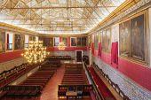University of Coimbra interior — Stock Photo