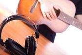 Acoustic music — Stock Photo