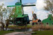 Hollanda'da fabrikaları — Stok fotoğraf