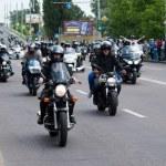 International Festival of bikers. — Stock Photo #74006711