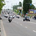 International Festival of bikers. — Stock Photo #74010671