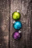 Decoratie kerstballen — Stockfoto