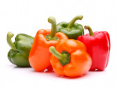 Sweet bell peppers — Stock Photo