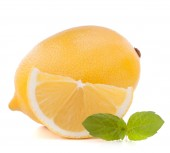 Lemon or citron citrus fruit — Stock Photo