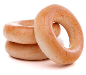 Bread ring or baranka — Foto de Stock