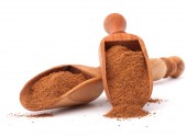 Cinnamon spice powder — Stock Photo