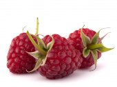 Ripe raspberries  — Stock Photo