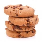 Chocolate homemade pastry cookies — Stock Photo