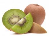 Sliced kiwi fruit segments — Stock Photo