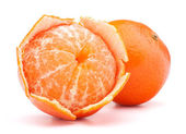 Peeled mandarin fruit — Zdjęcie stockowe