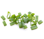 Chopped spring onion — Stock Photo