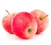 Czerwone jabłka świeże — Zdjęcie stockowe