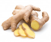 Fresh ginger root — Stock Photo