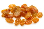 Yellow sultanas raisins — Stock Photo