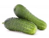 Fresh ripe cucumbers — Stock Photo