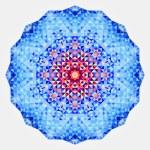 Abstract colorful circle backdrop. Geometric vector mandala. Mos — Stock Vector #54642589